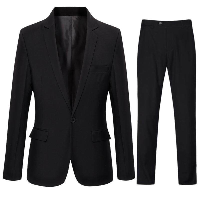( Jackets + Pants ) 2019 New Mens Fashion Business Casual Suit 2 Piece Groom Wedding Dress Suit Men By Yangs House.