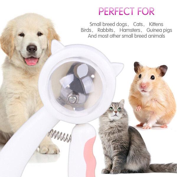 Cat Pet Nail Clippers Cat Claw Tông đơ cắt móng tay Mèo tính năng cắt móng tay mèo với tập tin móng tay