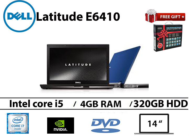 Dell Latitude E6410 Intel core i5 4GB RAM 500GB HDD 14 INCH NVIDIA NVS 3100M 512 MB GRAPHIC Malaysia