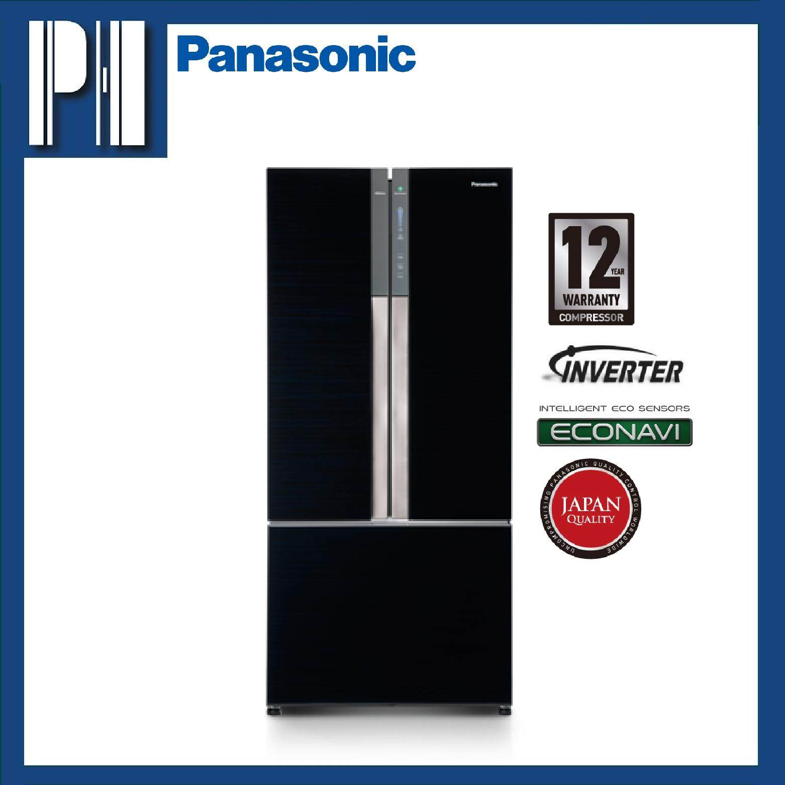 PANASONIC NR-CY558GKMY 547L ECONAVI Inverter Multi Door Fridge/Refrigerator