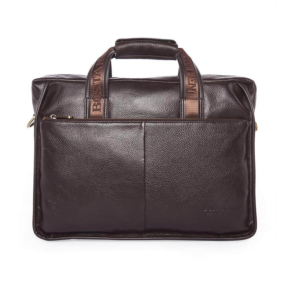 7ba02285808f Bostanten Men's Genuine Cowhide leather Briefcase Laptop Bag Messenger  Business Bags