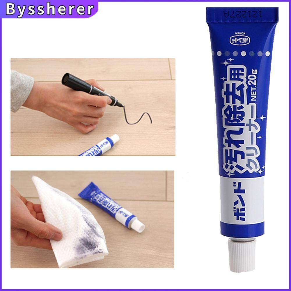 Byssherer 20g Wall Removal Cleaning Paste Desktop Graffiti Multifunctional Cleaner Decontamination Cream