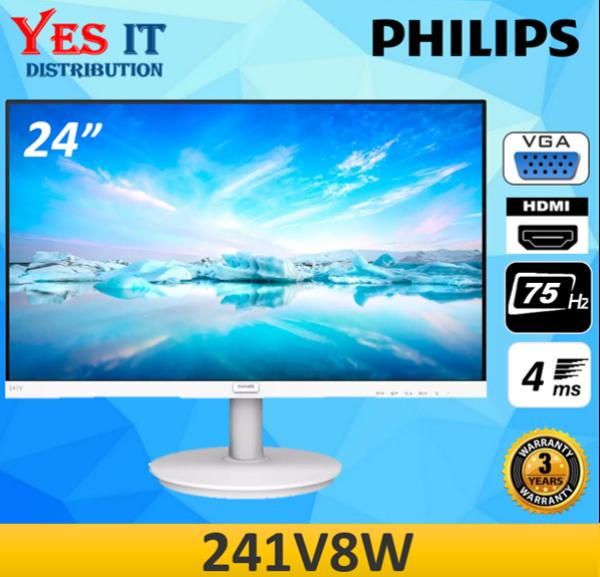 Philips 241V8W 24 Full HD IPS 75Hz 4ms Adaptive Sync LED Monitor ( HDMI / VGA ) Malaysia