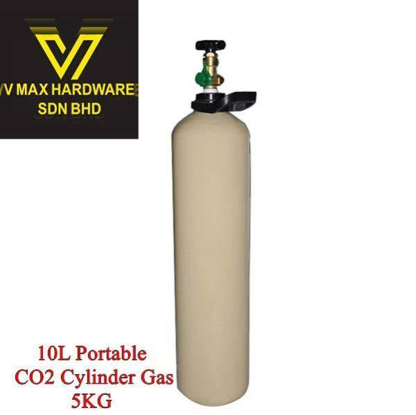 Iron Welding 10L Portable CO2 Cylinder Gas *inc gas*