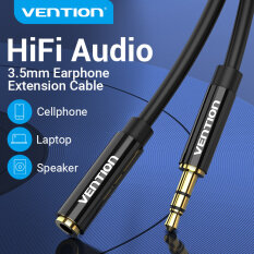 Vention dây kết nối âm thanh Aux 3.5mm Audio Extension 3.5mm Cable Jack dây nối dài tai nghe 3.5mm male to Female earphone Extender Cable Car Aux Cord for Headphone Louder Auxiliary Extender Cord