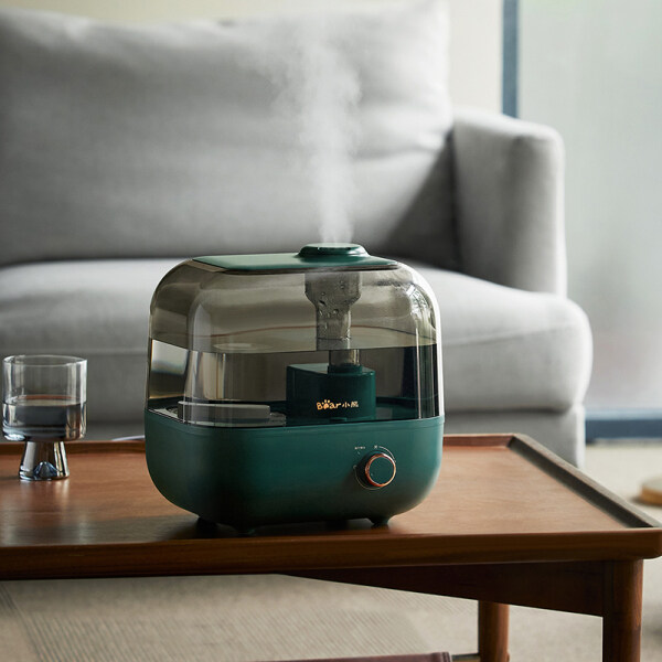 Bear Humidifier Household Quiet Small Heavy Fog Air Water Pregnant Woman Baby Bedroom Desktop Office Singapore