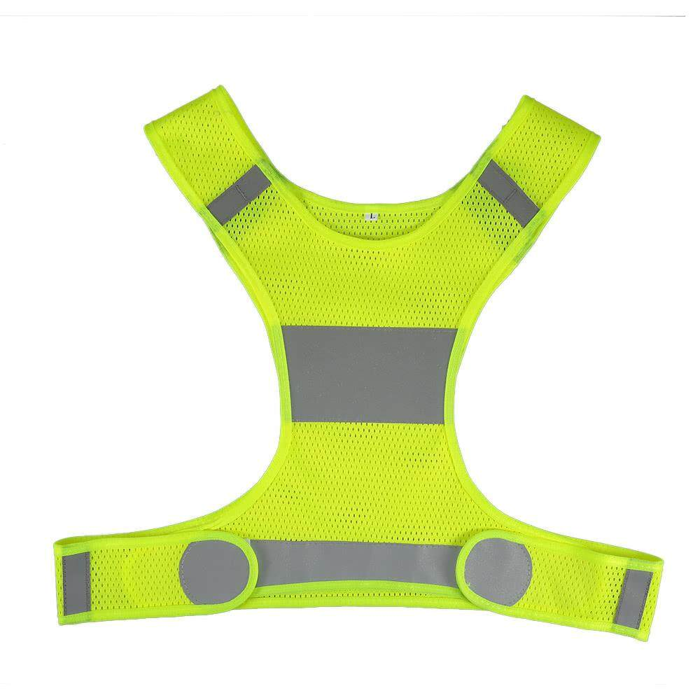 Outdoor Sports Running Reflective Vest Adjustable Lightweight Safety Gear For Women Men Jogging Cycling Walking By Huashangpai.