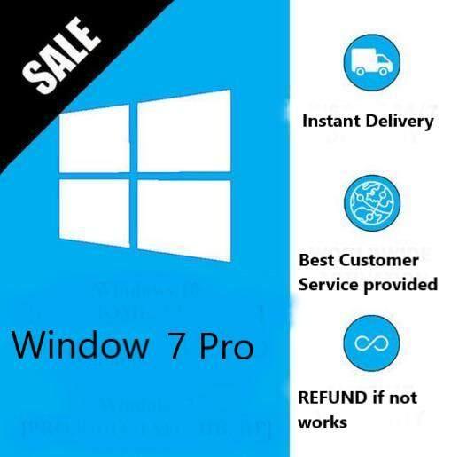 (Chat For Enjoying Free Shipping) Genuine Windows 7 Pro Product Key ( 1PC ,  Lifetime usage )
