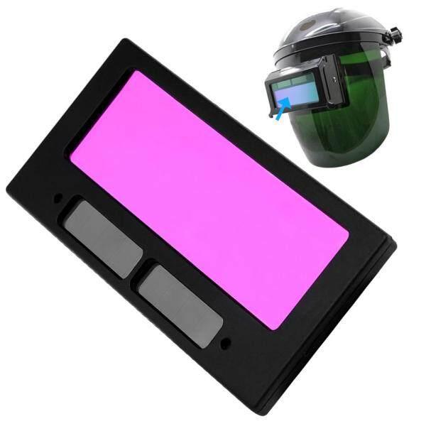 Solar Automatic Dimming Welding Lens Shade Auto Darkening Welding Filter Lens for Welding Mask