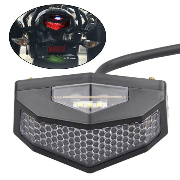Talage Đèn Hậu LED Xe Máy Thông Dụng 5 Trong 1 Phụ Kiện Cổ Điển Để Lái Xe An Toàn