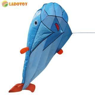 Diều Cá Heo Khổng Lồ Hình Lá Dù Siêu Mềm 3D Diều Cá Heo Thể Thao Ngoài Trời thumbnail