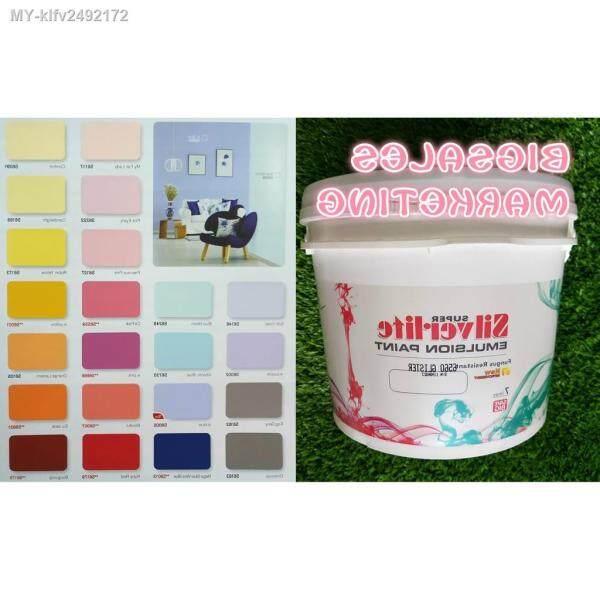 7 Liter SANCORA Silverlite Wall Emulsion Paint - Wall Ceiling Paint (Color)