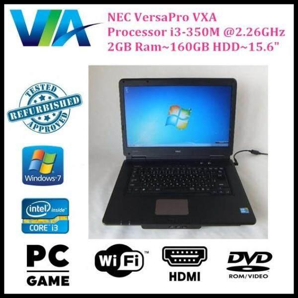 Refurb Nec VersaPro VX-A~CI3~2Gb Ram~160Gb HDD~15.6 Malaysia