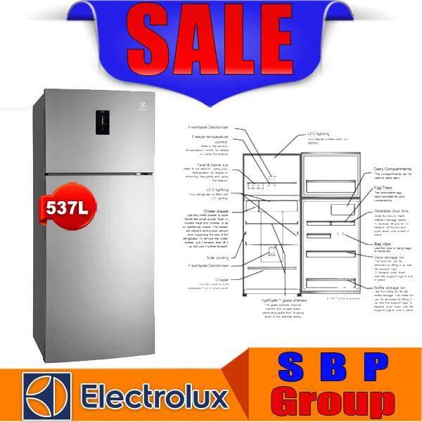 ELECTROLUX 537L NutriFresh? Inverter Top Mount Fridge (ETB5702AA) (Free Basic Installation for Johor)