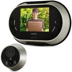 """Digital 3.5"""" LCD 150° Peephole Viewer Door Eye Doorbell Color IRCamera"""