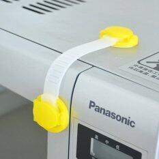 Drawer Cupboard Door Drawer Fridge Box Children Baby Safety Safe Lock Yellow 1pc