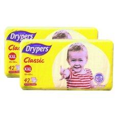Drypers Classic Family Pack 15kg++ -XXL42 2 Pack
