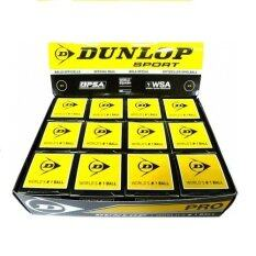 Dunlop Double Dot Squash Ball (black) By Sportshorizon.com.