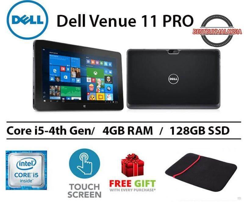 Dell Venue 11 Pro Core i5-4300Y 4GB RAM 128 GB SSD 11.6 INCH Malaysia