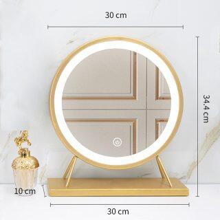 Gương Trang Điểm Để Bàn LED Lớn, Gương USB Làm Đẹp Tất Cả Trong Một Gương Trang Điểm Để Bàn Trang Điểm Tại Nhà LED thumbnail