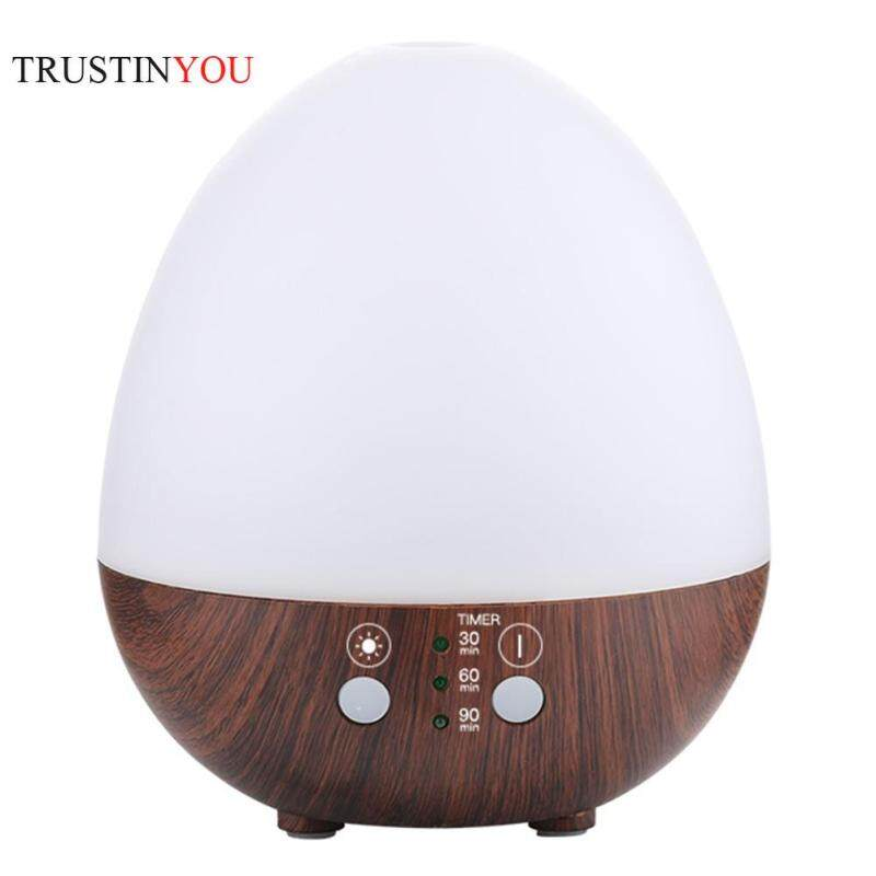235ml Simple Humidifier LED Egg Shape Essential Oil Aroma Diffuser Ultrasonic Air Purifier Singapore