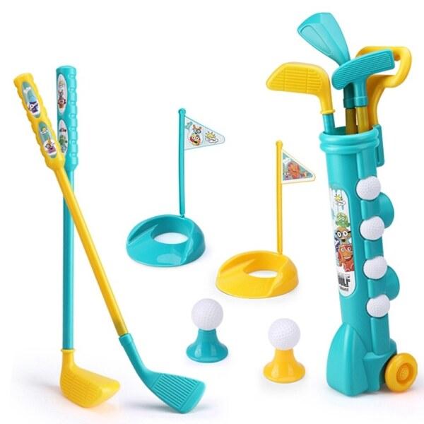 1 Bộ Mini Nhựa Golf Đồ Chơi Trẻ Em Golf Thể Thao Trò Chơi Trẻ Em Chuyên Nghiệp Trẻ Em Nhà Ngoài Trời Trong Nhà Câu Lạc Bộ Golf Nhỏ Đảng Đào Tạo