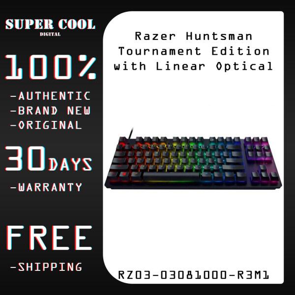 Razer Huntsman Tournament Edition with Linear Optical Switch Gaming Keyboard (RZ03-03081000-R3M1) Singapore