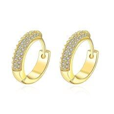 E038-A 18k Gold Plating Earrings Fashion High Quality Zircon Earrings By Xxiustore.