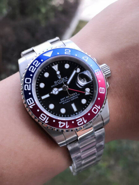 Rolex_GMT_Master II Automatic Movement Stainless Steel Saphhire Crystal Glass (High Glow In Dark) Malaysia