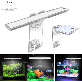 SBY Đèn LED Bể Cá Đèn Trồng Cây Đèn Thủy Sinh Độ Dày 3-8MM Phù Hợp Với Bể, Hồ Cá Khung Ánh Sáng thumbnail