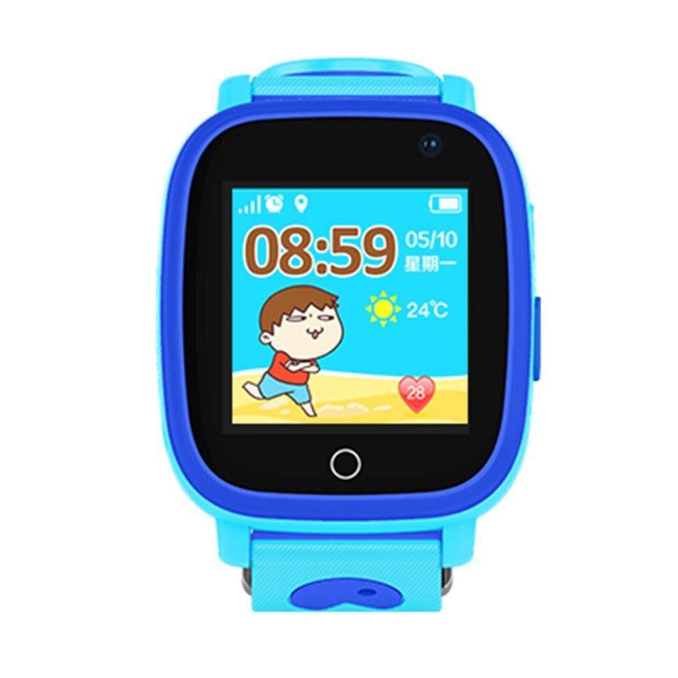 Bgd Q11 Layar Sentuh Aman untuk Anak Smartwatch Ponsel Pelacak GPS Anti-Lost Jam SOS