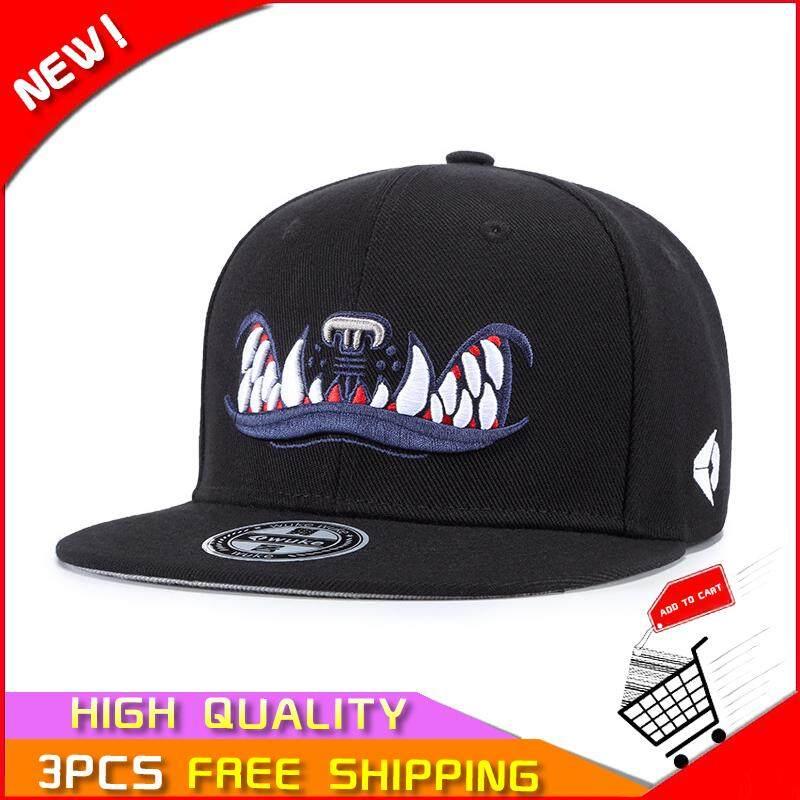 QQ Topi untuk Pria dan Wanita Versi Korea dari Eropa dan American Street  Fashion Hip Hop 3dc53035ee