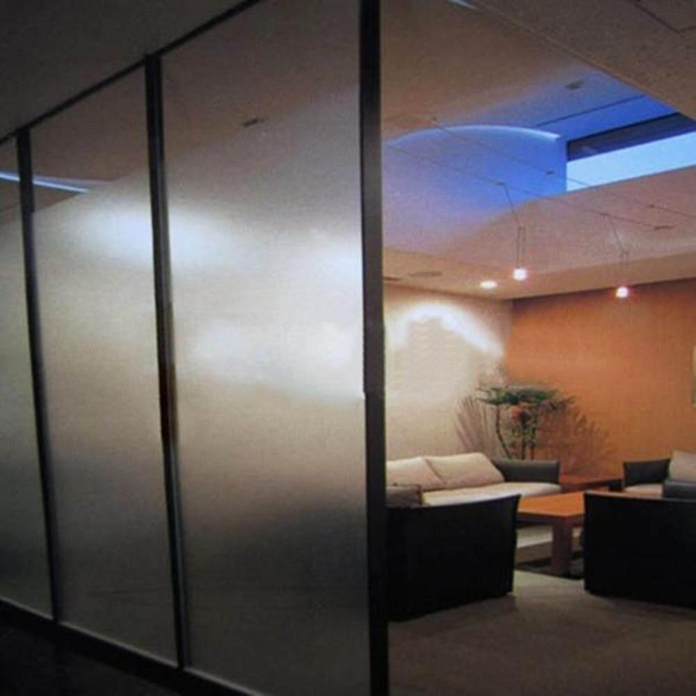 JMS Frosted Glass Sticker Window Film Anti UV Bedroom