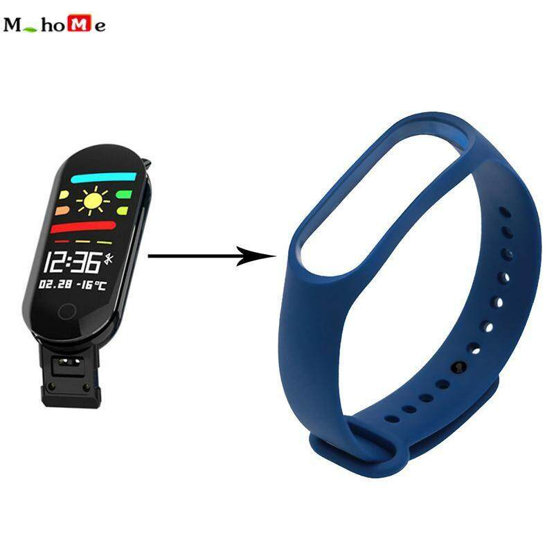 M_home Softness Silicone Watch Band Bracelet Wrist Strap Replacement For M3 Smart Watch Accessories By M_home.