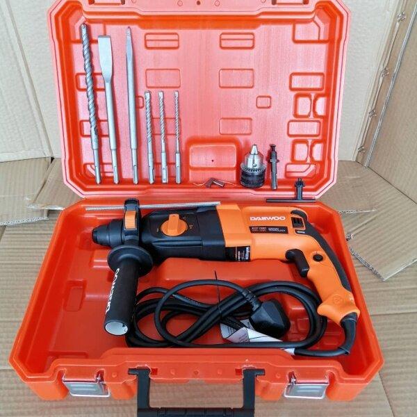 DAEWOO 820Watt DARH26SRE 26mm 4in1 Rotary Hammer - 1year Warranty