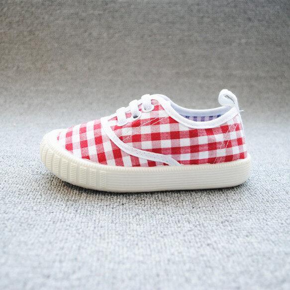 Giày Vải Bốn Mùa Cho Trẻ Em Giày Kẻ Sọc Anh Cho Trẻ Em Giày Thường Ngày Giày Đế Mềm Cho Trẻ Em giá rẻ