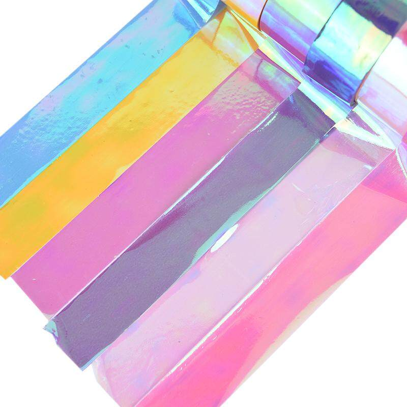 5m Rhythmic Gymnastics Decoration Holographic Prismatic Glitter Tape Hoops Stick