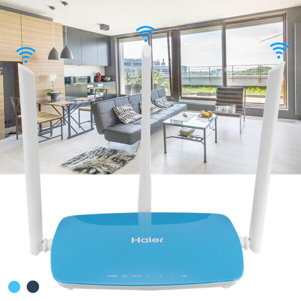 Haier Wireless 300Mbps ADSL2 + Modem Wifi Bộ Định Tuyến Haier (Hỗ Trợ Chế Độ Chuyển Tiếp)