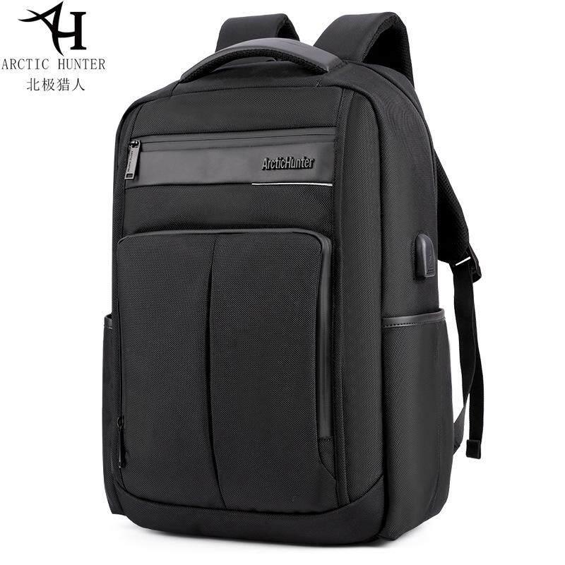 bb10577083 ARCTIC HUNTER Men Fashion Leisure Laptop Backpack Waterproof Shockproof USB  Charging Port Computer Bag Leisure Outdoor