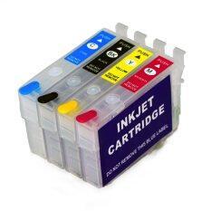 T288 288xl T2881 T2881-t2884 Refill Ink Cartridge Cho Epson Xp-434 Xp-430 Xp-330 Xp-340 Xp-446 Máy In Mà Không Cần Chip