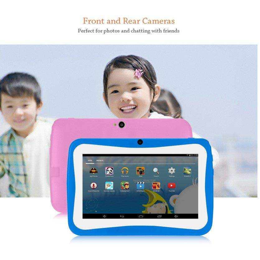 ROVE 7 Inch Kids Tablet PC Android 4 4 2 Tablet 1 5GHZ Quad Core 8GB WIFI  Tablet 1024x600 HD Screen Children Education Device