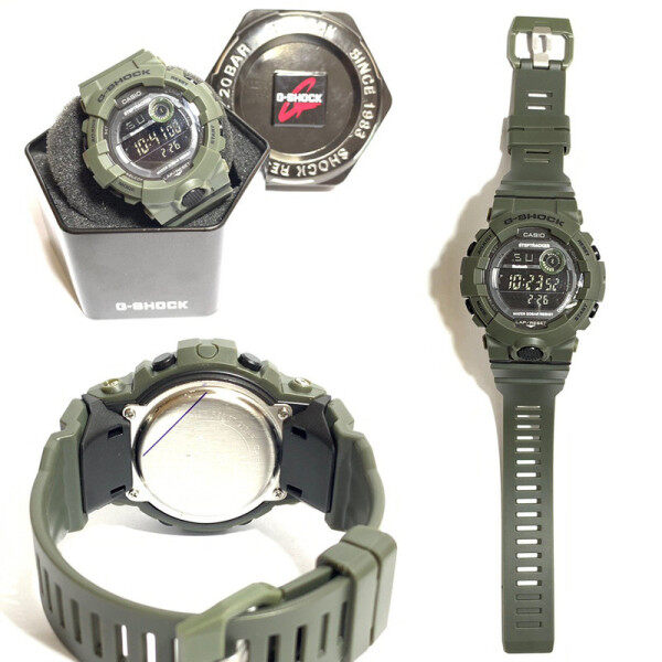 G SHOCK_GA110 DUAL TIME RUBBER STRAP WATCH SET FOR MEN WITH FREE TIN GIFT BOX Malaysia