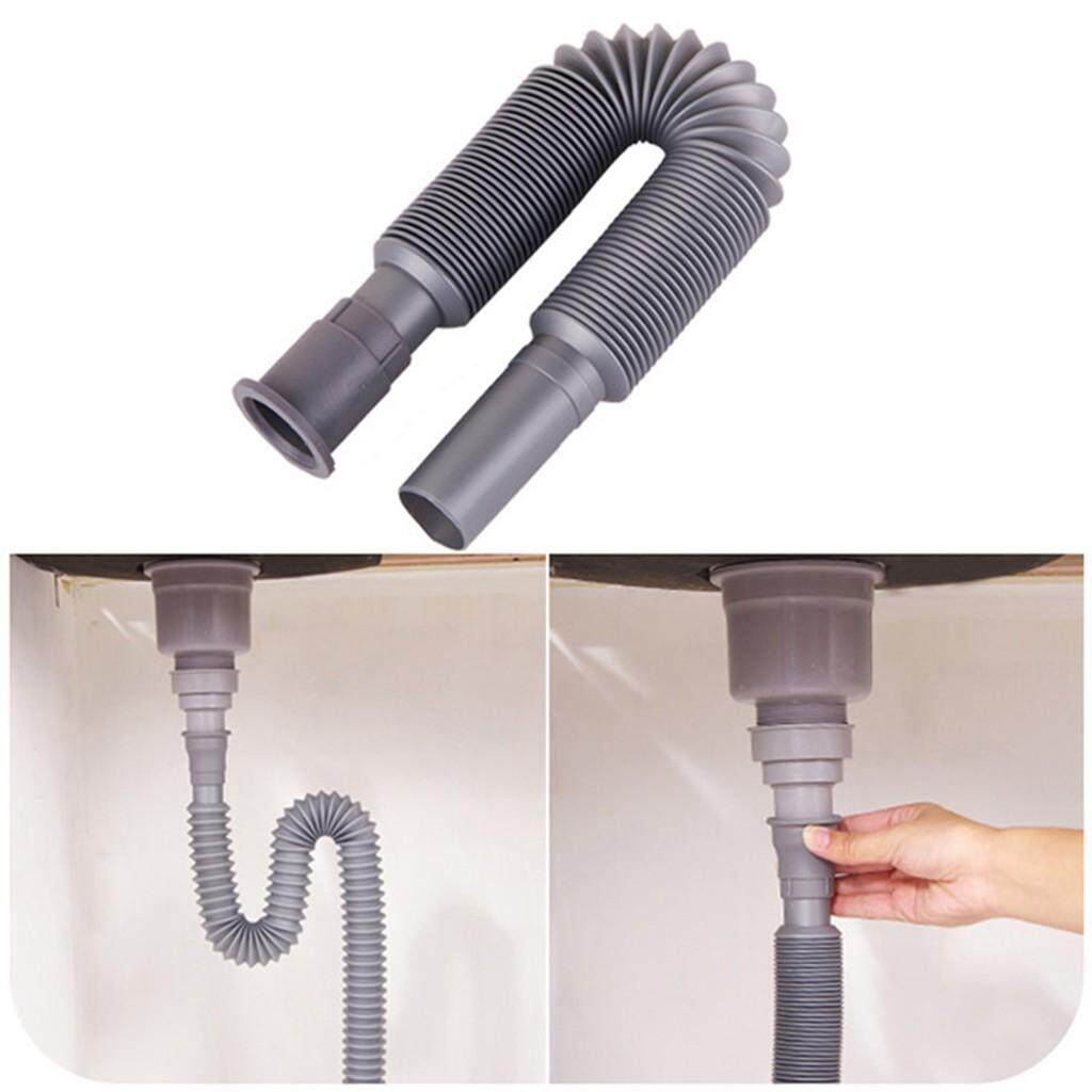 Basin Deodorant Retractable Down Pipe Plastic Corrugated Pipe Underfloor Drain
