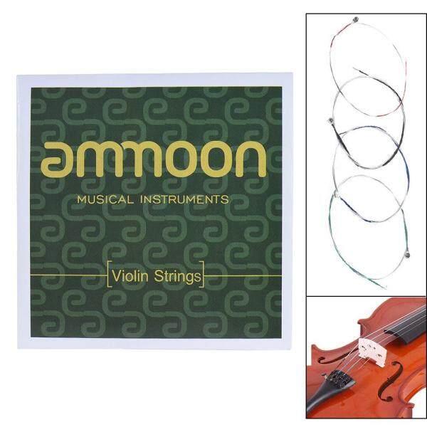 ammoon Full Set High Quality Violin Strings Size 4/4 & 3/4 Violin Strings G D A and E Strings Malaysia