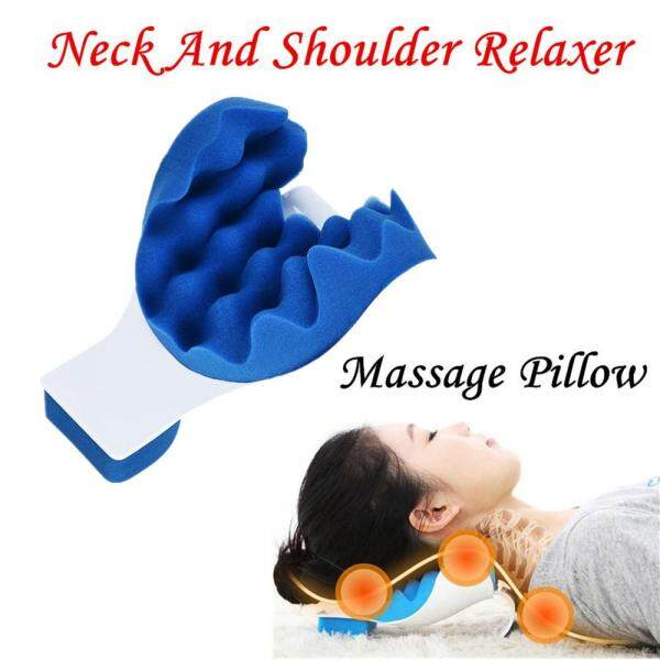 Neck And Shoulder Relaxer Neck Pain Relief Massage Pillow Neck Support Pillow
