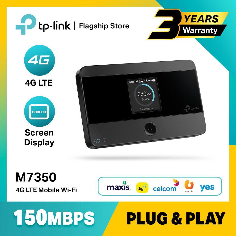 Tp Link M7350 4g Lte Mobile Wifi Portable Modem Router Mifi Lazada