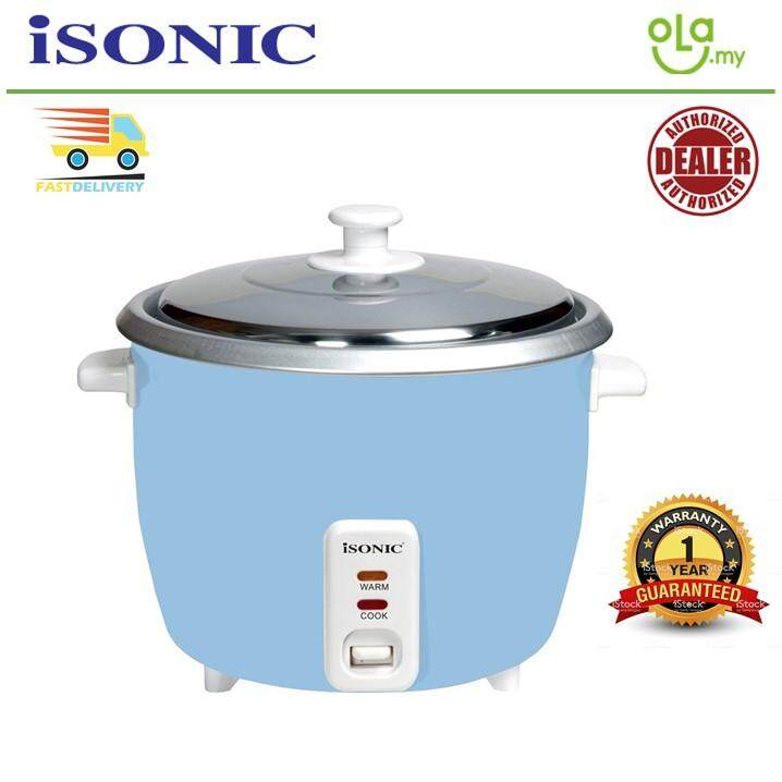 ISONIC IRC-1009 1L Rice Cooker + FREE measuring cup and spoon IRC 1009 / IRC1009