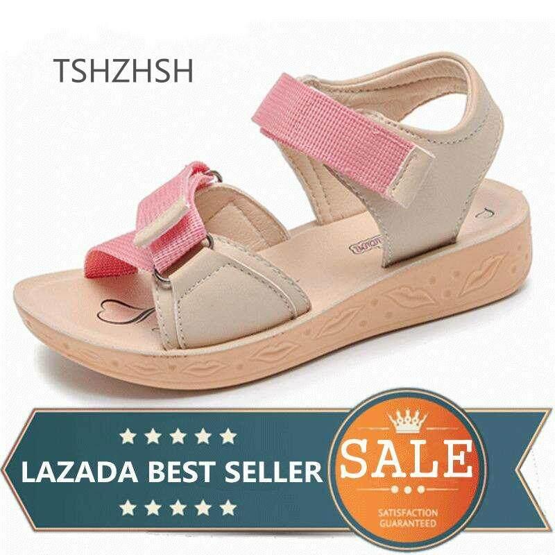 df44ae636 Girls Sandals Children Beach Slippers Shoes Summer Style Kids  Slip-Resistant Sandals Girls Princess Roman