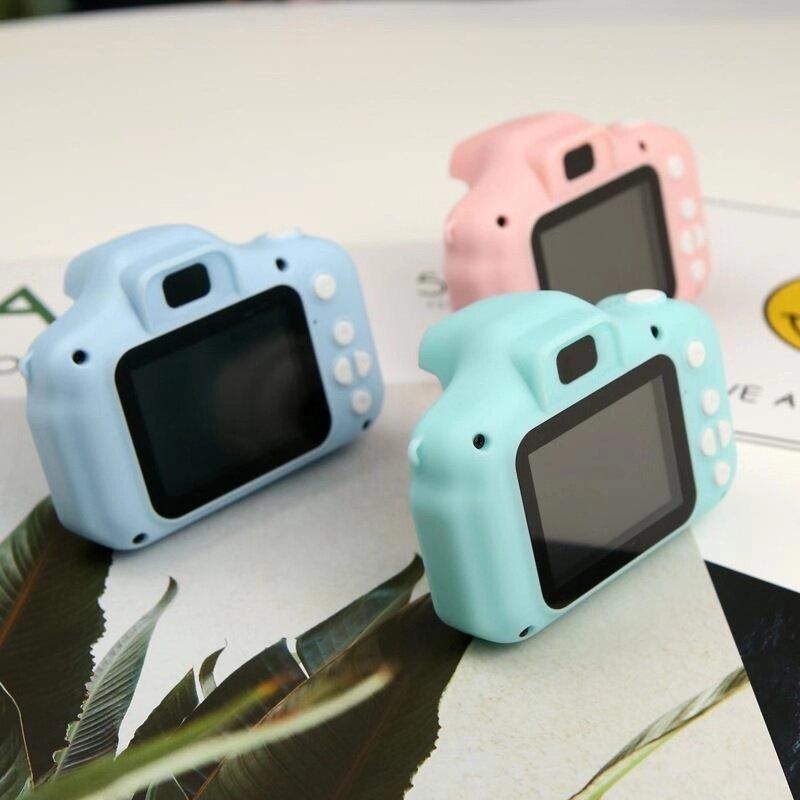 Máy ảnh trẻ em hình 2 inch đầu ghi video HD 1080P, đồ chơi máy ảnh chụp ảnh ngoài trời thích hợp làm quà tặng cho bé