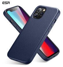 ESR Da Thật Cao Cấp Được Thiết Kế Dành Cho Ốp Lưng iPhone 12/iPhone 12 Pro Max Ốp/Ốp iPhone 12 Mini [Da Mỏng] [Hỗ Trợ Sạc Không Dây] [Chống Trầy Xước] Ốp Bảo Vệ Cho iPhone 12/12 Pro 2020